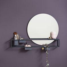 Specchio a muro / moderno / rotondo / da bagno by Laura Bilde WOUD