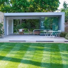 What is it about garden rooms that is so universally appealing? We're getting excited just thinking about the prospect of a seclude little spot somewhere, like this space for meditation and children's den