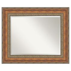 Amanti Art Vienna Bronze-Tone Wall Mirror