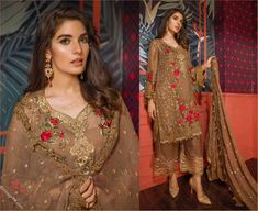 Emaan Adeel Eid Collection 2018 comes with more premium and luxury chiffon dresses. It's enchanting, charming, fascinating and what not. Eid Collection, Chiffon Dresses, Pakistani, Beautiful Dresses, Lawn, Saree, Glamour, Luxury, Fashion