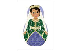 Moroccan Bride Matryoshka