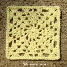 ~ Dly's Hooks and Yarns ~: ~ 'Take 2' square ~