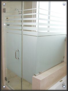 semi transparent frameless shower doors cool vessel sink