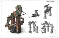 p12 saddleRack iuri lioi 580x375 Art of How to Train your Dragon 2