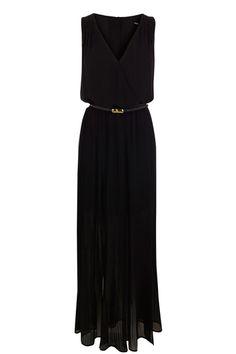 maxi pleat dress.