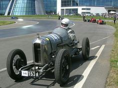At Brooklands