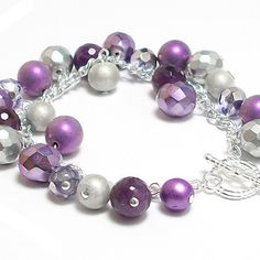 On-trend purple with the bling factor ;)