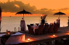 Now thats a view for dinner!!!