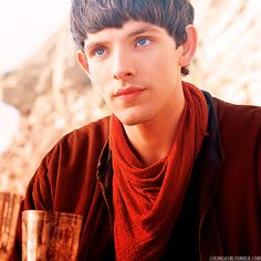 Merlin and I had the same solution, and yet I was unable to run into the scene and drink from the goblet first... I guess it turned out alright anyway.