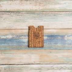 Vegan friendly cork wallets, tough and durable as leather, super light too. Cork Wall, Cork Flooring, Natural Forms, Good Company, Vegan Friendly, Cool Stuff, Tattoo Artists, Wallets, Best Gifts