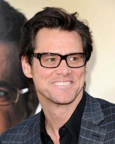 Jim Carrey...especially in glasses! <3