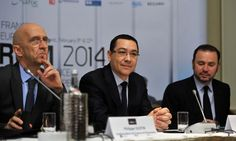 Premierul Victor Ponta a participat, marti, la Forumul de afaceri Franta - Europa de Sud-Este 2014, prilej cu care a declarat ca oamenii de afaceri pot transmite un semnal de incredere si stabilitate