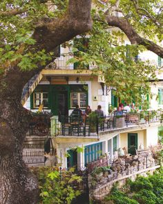 platanos cafe, cephalonia, greece   travel photography #restaurants
