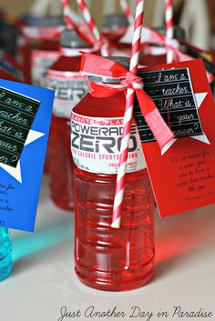 superhero powerade | ... blue Powerade, because well those are pretty awesome superhero colors