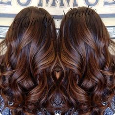 """""""Subtle #balayagehighlights for the lovely @neni1269 #balayagehaircolor…...hair color ideas for brunettes for summer"""