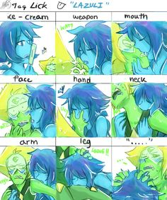 Lick by Treker402 on DeviantArt HOT FUCK *Lapidot intensifies*  I don't even think Gems have Vaginas or dicks god damn but look at that