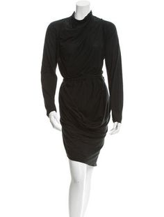 Dresses For Work, Formal Dresses, Crop Tops, Long Sleeve, Sleeves, Outfits, Black, Style, Fashion