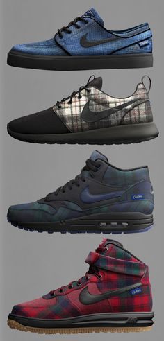 cheap for discount 6f477 fc840 Nike iD x Pendleton 2014  Janoski, Air Max 1, Roshe Run   Lunar Force 1