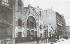 Salón Olimpia de Bilbao inaugurado en 1905 en plena Gran Via