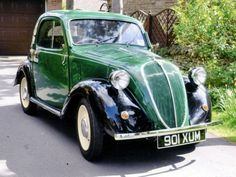 My friend Giulio has one Topolino like this one, but in mint conditions...