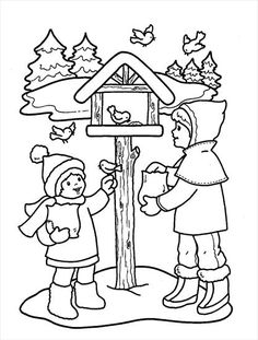 Christmas winter Coloring Pages Christmas Pictures To Color, Christmas Colors, Homemade Christmas Cards, Christmas Crafts, Coloring Pages For Kids, Coloring Books, Alphabet Quilt, Christmas Coloring Pages, Christmas Templates