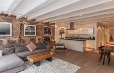 Что такое лофт? Особенности и основные характеристики стиля лофт в интерьере современной квартиры. Читайте в блоге Пуфик - все о дизайне интерьера