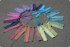 Easy iDyed Overdyed Jeans