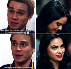 Season 1 Episode 11 Chapter Eleven: To Riverdale and Back Again Riverdale Season 1, Riverdale Cw, Riverdale Memes, Netflix Series, Tv Series, Riverdale Archie And Veronica, Good Girl Quotes, I Dont Fit In, Riverdale Cole Sprouse
