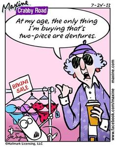 At my age, the only thing I'm buying that's two-piece are dentures.