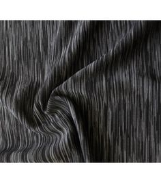 Performance Fabric-Space Dye Knit-Black