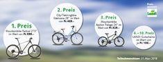Gewinne 3 mal ein Mountainbike und Landi Gutscheine: https://www.alle-schweizer-wettbewerbe.ch/gewinne-3-mal-ein-mountainbike/