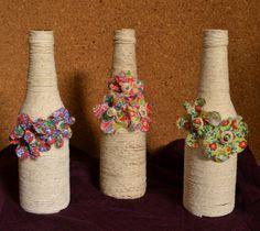 Garrafas floridas