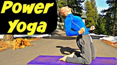 30 Min Warrior Power Yoga Workout - Yoga Flow for Strength and Flexibili...
