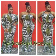 One Dress That Can Be Styled Many Different Ways  Big Beautiful Bombshell Size Large 1X 2X 3X Shop online www.thebombshellboutique.net