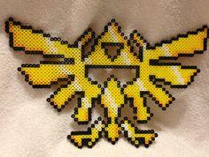 https://www.etsy.com/ca/listing/129417487/zelda-triforce-crest-perler-bead-art?ref=shop_home_active Zelda Triforce Crest Perler Bead Art by DerpyCrafts on Etsy, $18.00