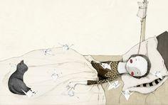 Illustratoren in der Galerie: Judith Loske malt auch mit Kaffee - jungesbuch.de