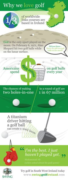 [Infographic]: Why We Love Golf! #golf #welovegolf