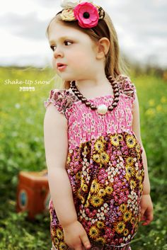 Ruby's Cap Sleeve Sun Top | Create Kids Couture | YouCanMakeThis.com