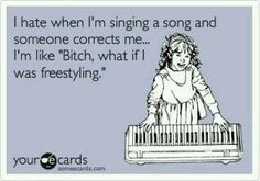 Freestyling hahaha