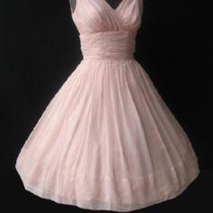 Violet Vintage Prom Dress, S., 70s. $75.00, via Etsy. | Someday ...