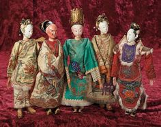 """""""It Ain't Over"""" till the Dolls Sing!: Lot 313: Chinese Opera Dolls"""