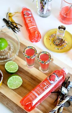 NYE Vodka Sparkle Shots - One Of The Best New Years Eve Drinks!