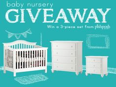 Did you hear? We now sell nursery furniture!!! And we areso excited about it that we decided we had toshare and give away one of thesets from our hand-picked collection of luxury baby furniture!...