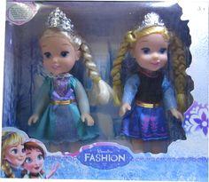 GabiPresentesonline: Boneca Frozen Disney Kit Anna Elsa Criança Kit 6 P...