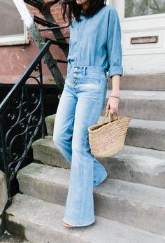Como Usar Jeans Claro Light Blue 18
