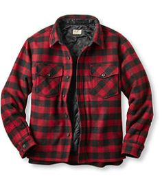 Maine Guide Shirt with PrimaLoft: Shirts Rugged Style, Hunting Shirts, Hunting Clothes, Lumberjack Style, Estilo Tomboy, Doc Martens Outfit, Flannel Jacket, Hooded Flannel, Men's T Shirts