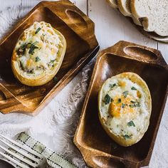 ❤️¡Feliz domingo de Resurrección! Hoy te ofrecemos estas Papas al horno rellenas con huevo. Receta fácil para Semana Santa ❤️