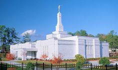 Raleigh North Carolina Temple of The Church of Jesus Christ of Latter-day Saints. #LDS #Mormons