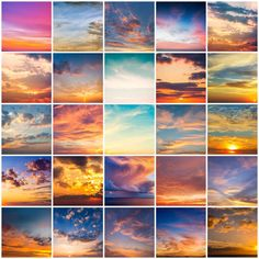 Ad: Epic Sunsets Cloud Overlays by Uplift Actions on Take your photos from average to EPIC with 50 incredible sunset overlays that seamlessly create drama and depth. Photoshop For Photographers, Photoshop Photography, Photoshop Elements, Photoshop Tutorial, Photoshop Actions, Sunset Colors, Sunset Sky, Cameras Nikon, Guache