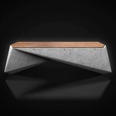 HexaSeat: a urban furniture project made in concrete and designed by Pouya Hosseinzadeh for Enison co. Concrete Bench, Concrete Furniture, Furniture Ads, Urban Furniture, Street Furniture, Furniture Projects, Furniture Makeover, Garden Furniture, Furniture Design